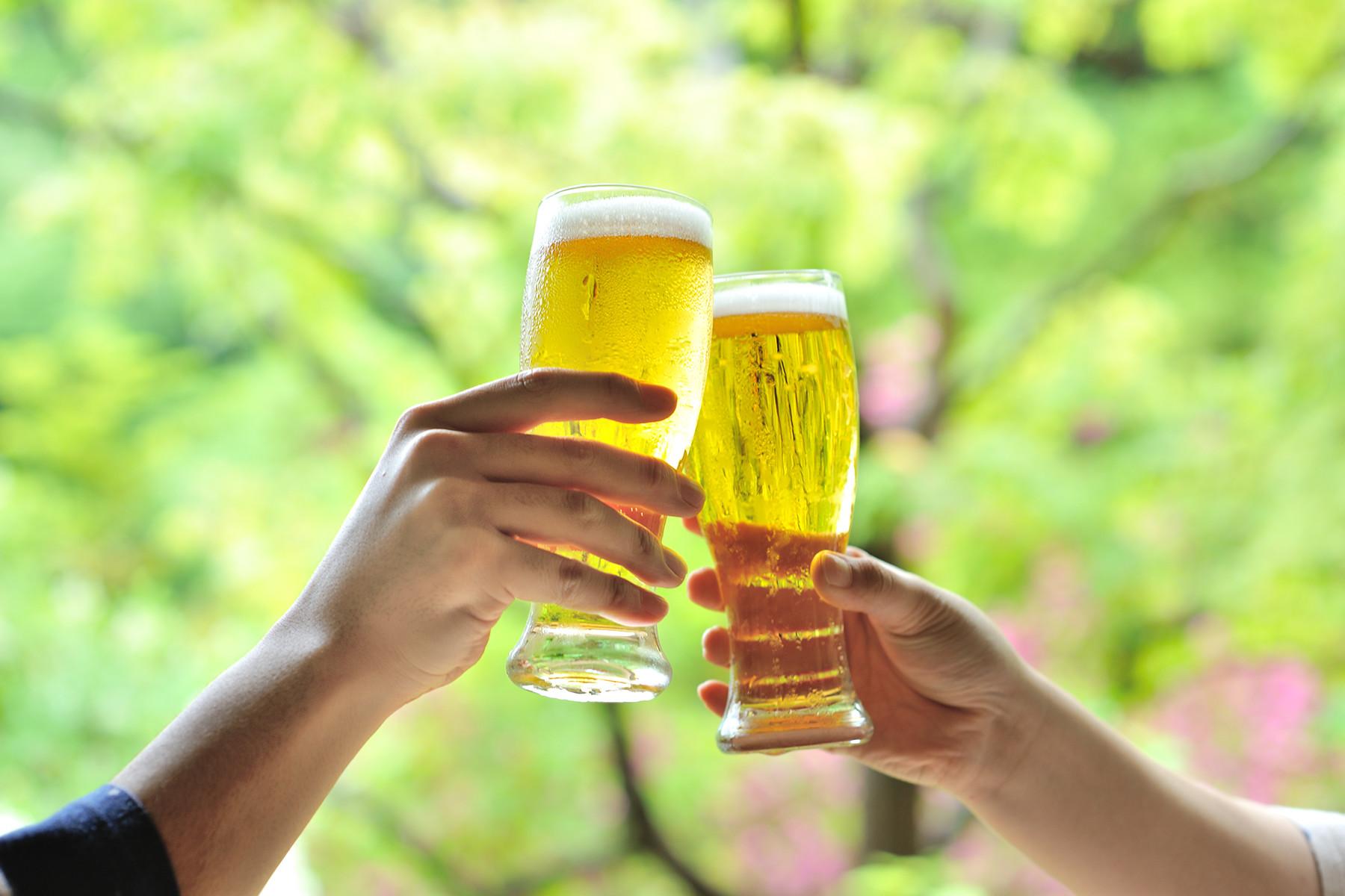 四万温泉の地ビール