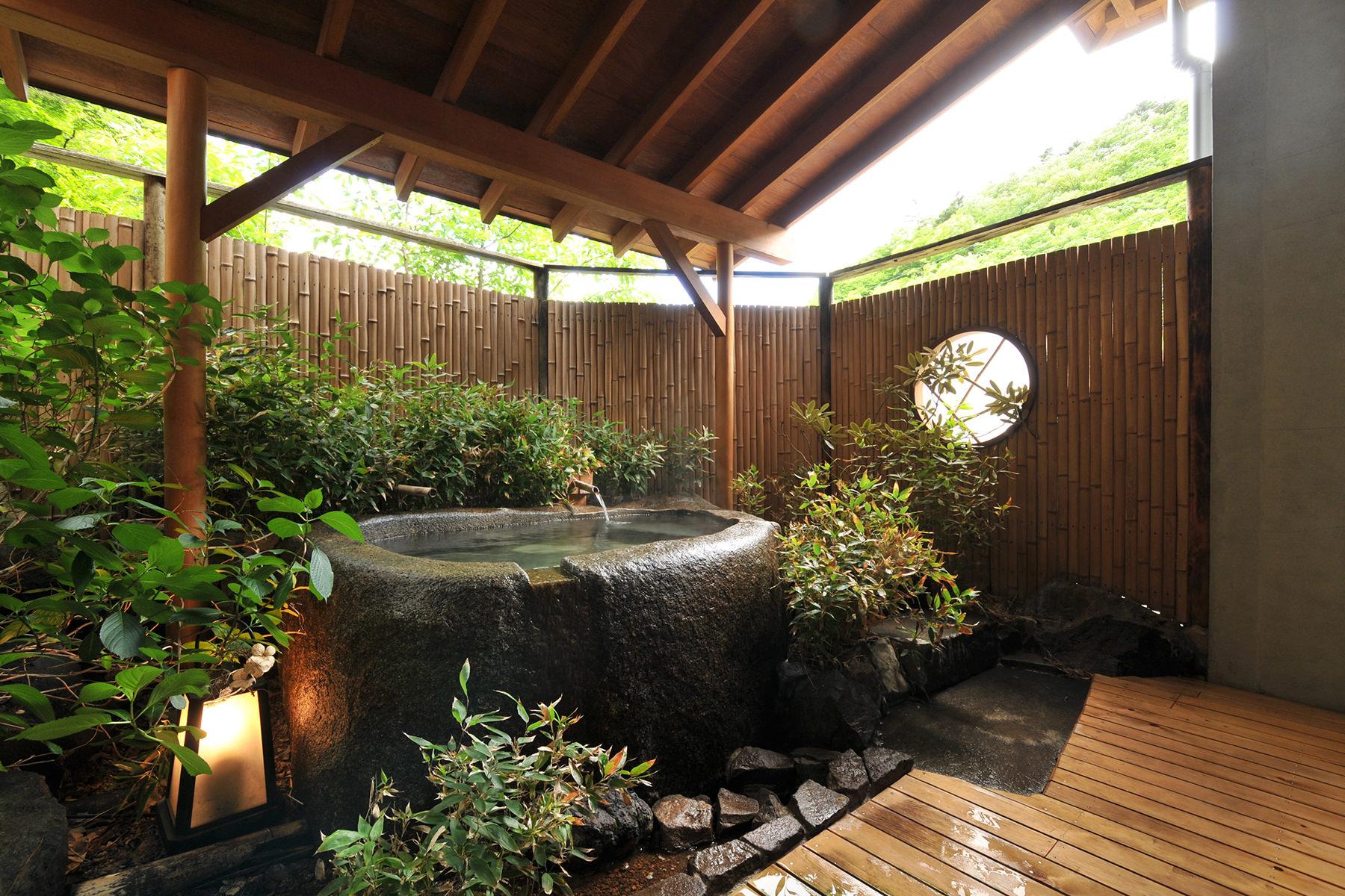 山王院-桜-露天風呂